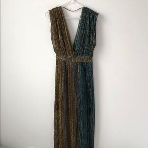 Grecian Goddess Maxi Dress perfect for Halloween!